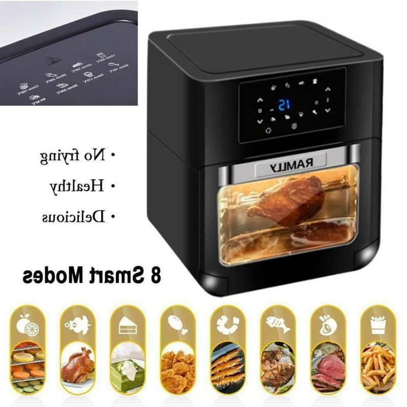 digital air fryer convection oven 1700w 8