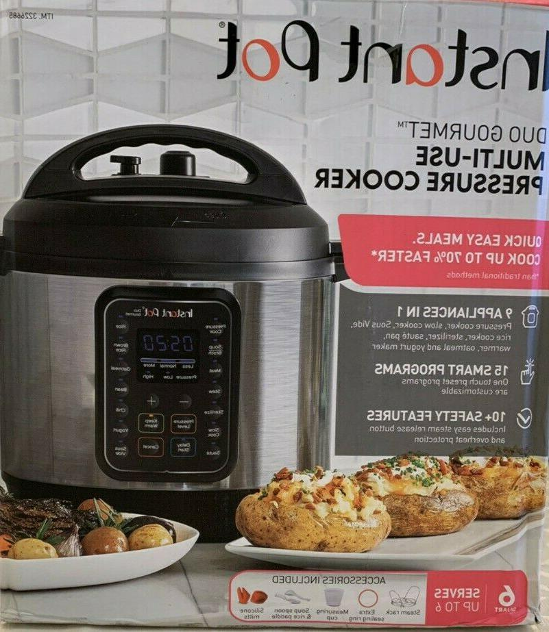 Instant Pot Duo 60 Multi-Use 9 Cooker - Used