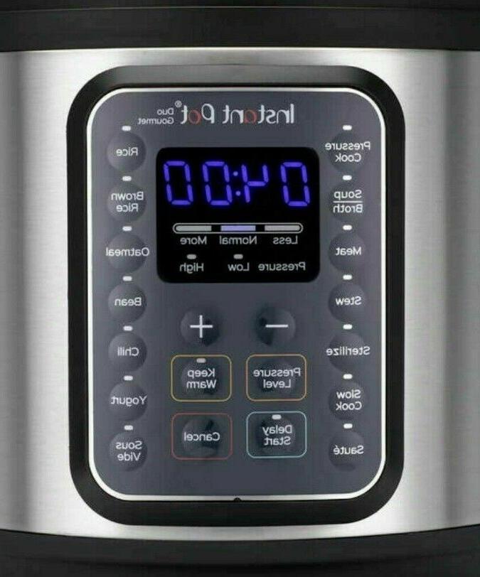 Instant 60 Quart 9 in Pressure Cooker Used