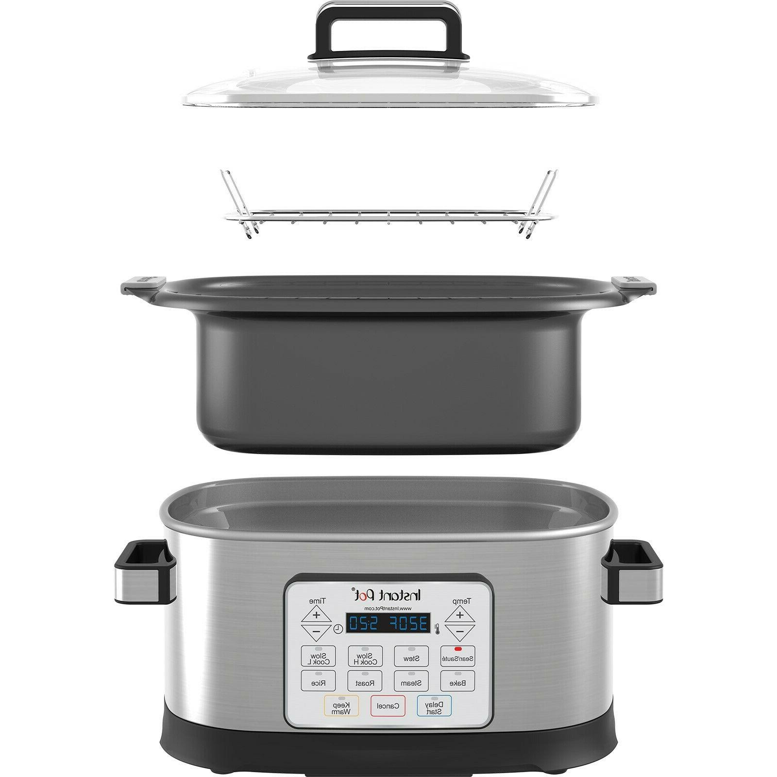 Instant Pot Gem 6Qt 8-in-1 Programmable Multi Cooker Advance