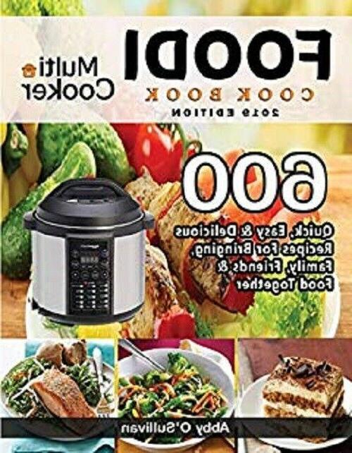 foodi multi cooker cookbook 2019 600 recipes