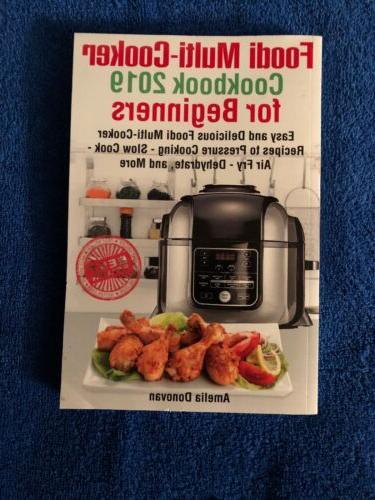foodi multicooker cookbook 2019 for beginners
