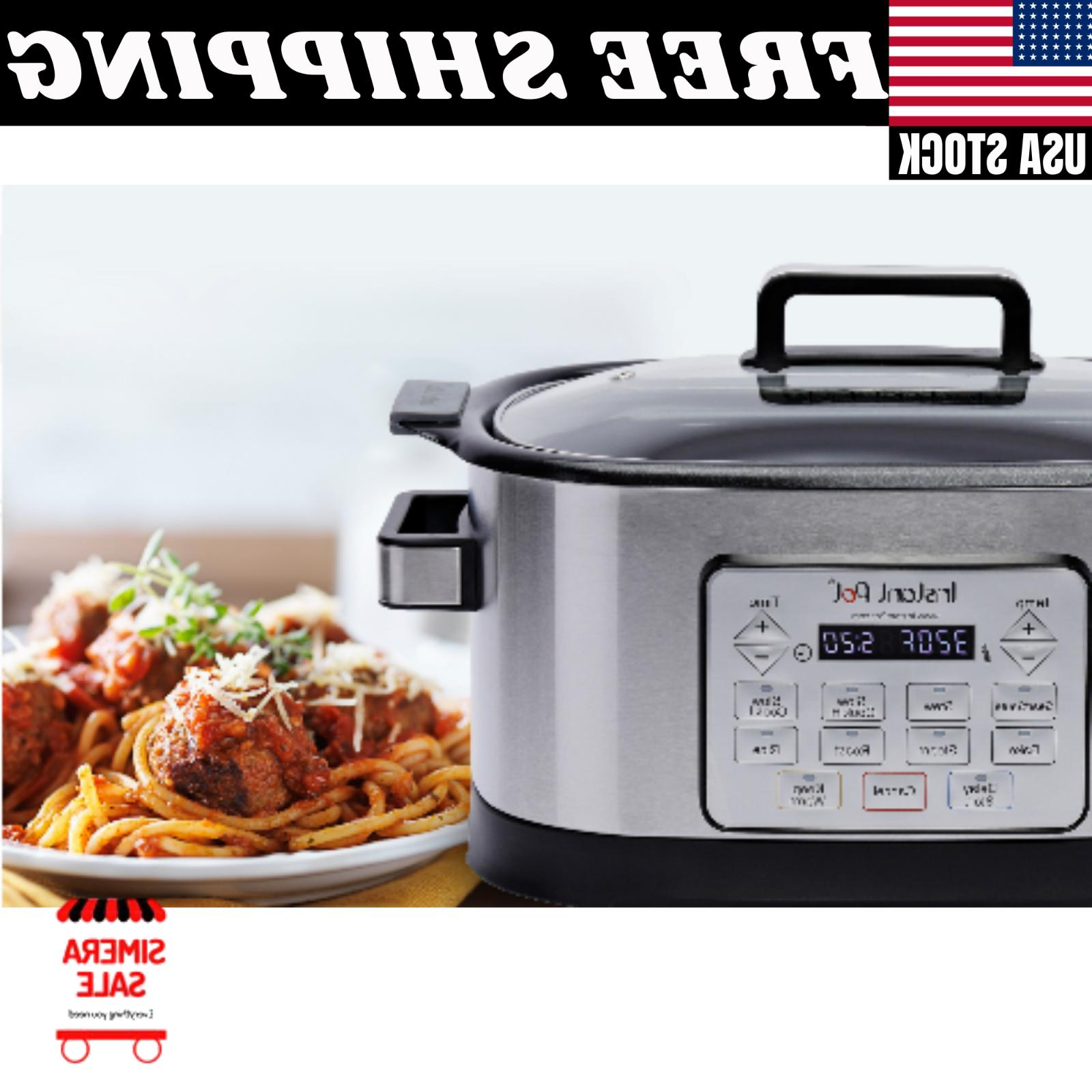 Instant 6 Qt. Programmable Multicooker Microprocessor LED