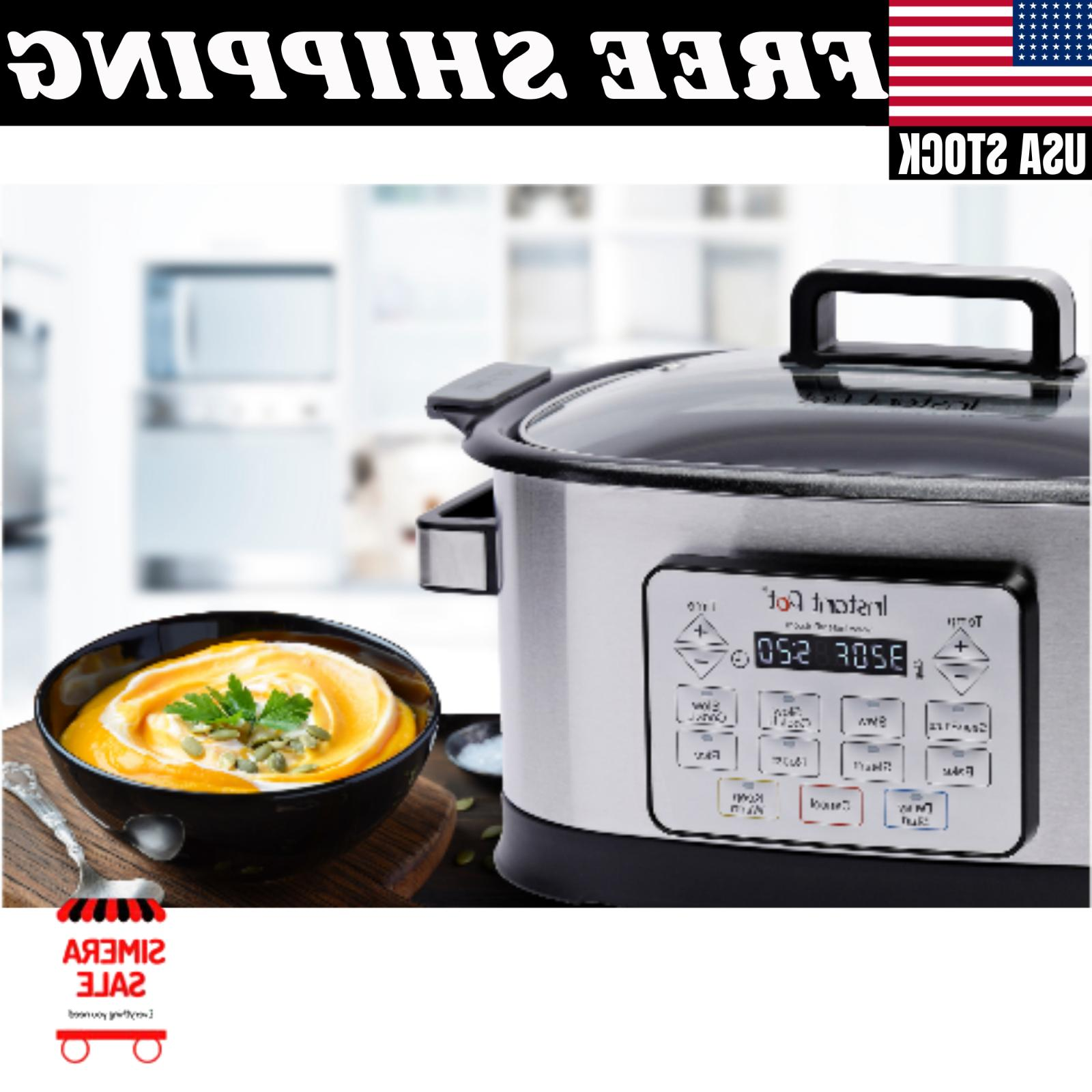 Instant 6 Programmable Multicooker Microprocessor LED Screen
