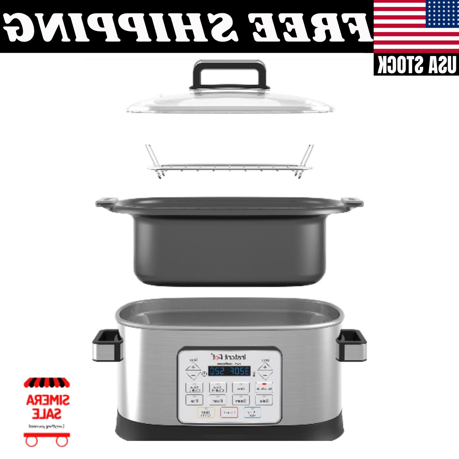 Instant 6 Programmable Multicooker LED Screen