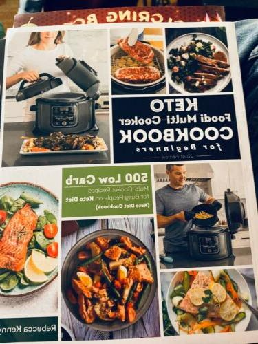keto foodi multi cooker cookbook for beginners