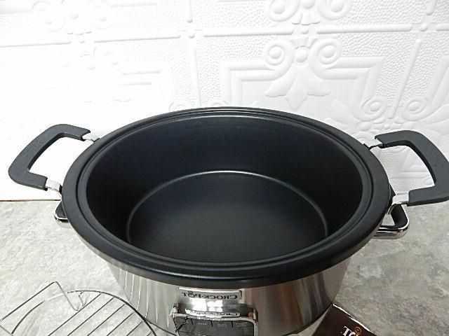 NEW CROCKPOT 1 MULTI 6QT MODEL Bakes Saute