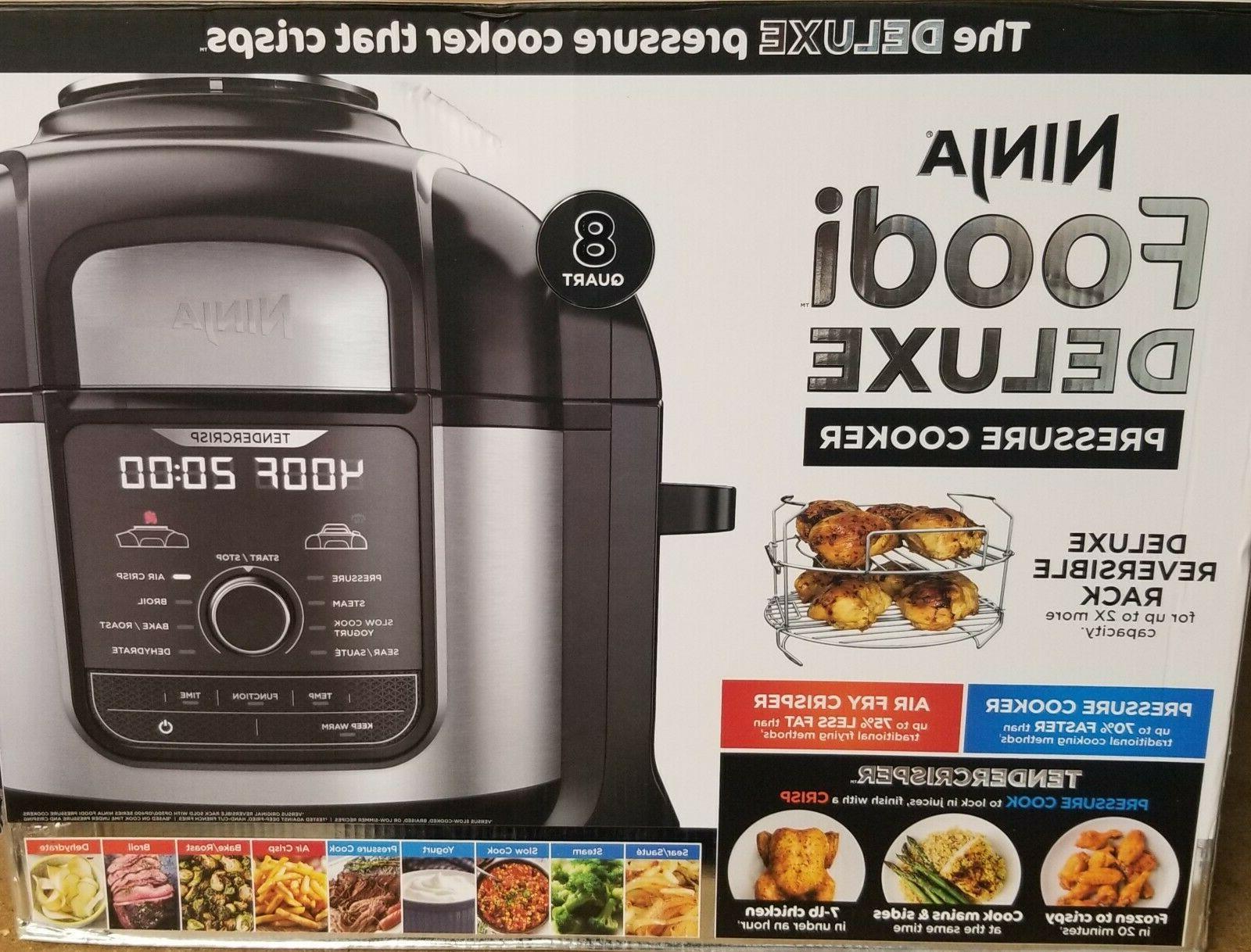 NEW Ninja 9-in-1 Deluxe XL Cooker Air
