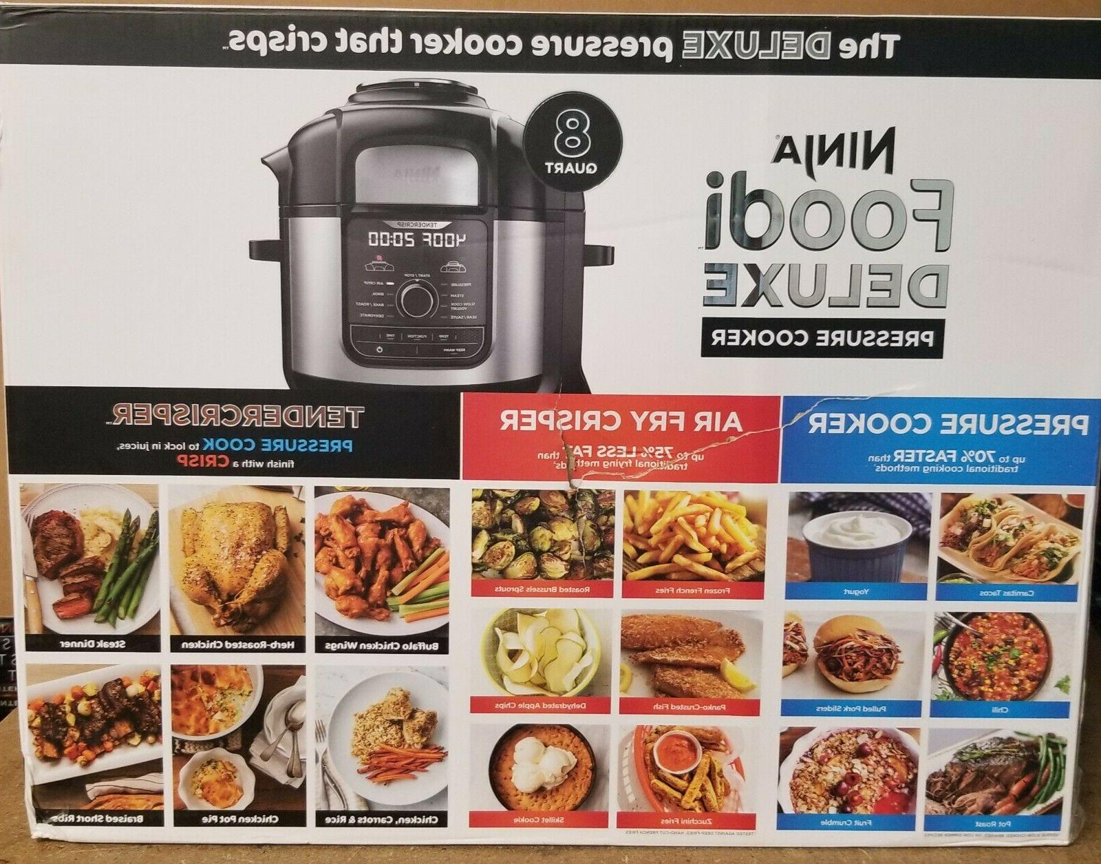 NEW Ninja Foodi 9-in-1 Cooker & Fryer