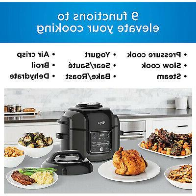 Ninja Electric Multi-Cooker Cooker and Air 9-in-1