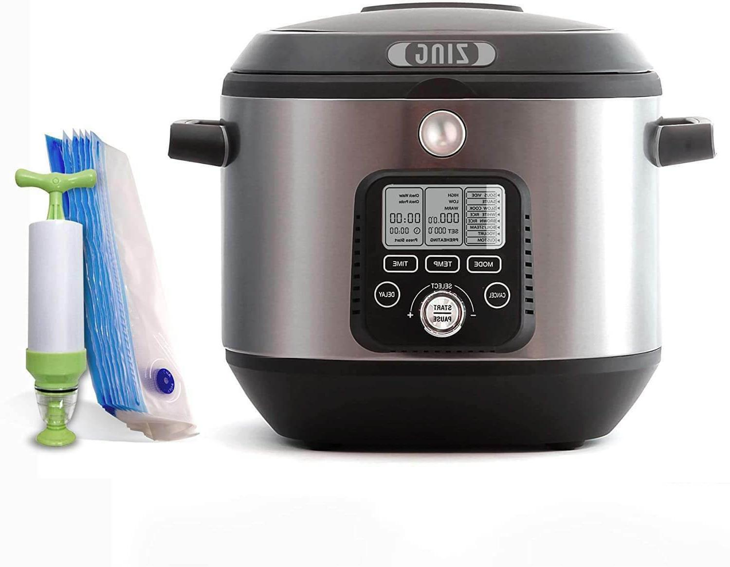 sous vide programmable cooker 8 in1 one