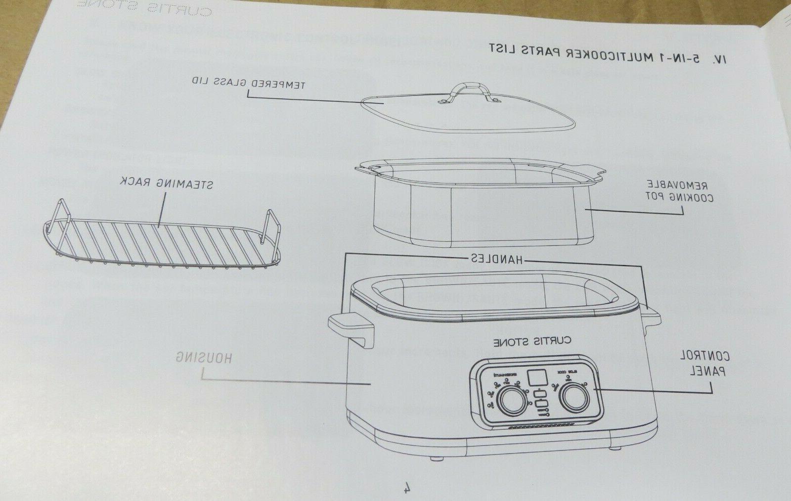 STONE COLOR BRAND NEW - Stone Qt 5 Multicooker