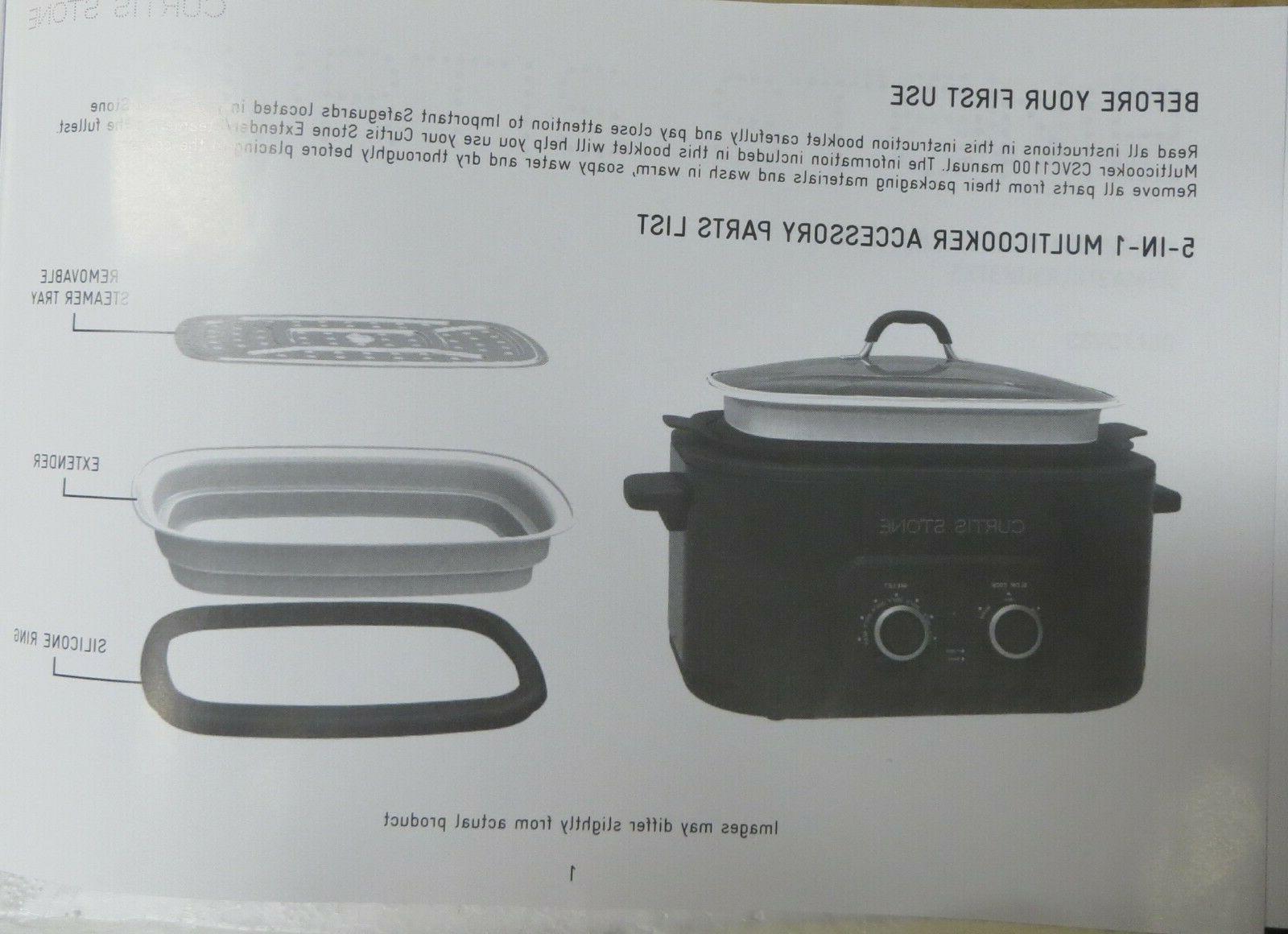STONE GREY COLOR - BRAND NEW - Stone Multicooker