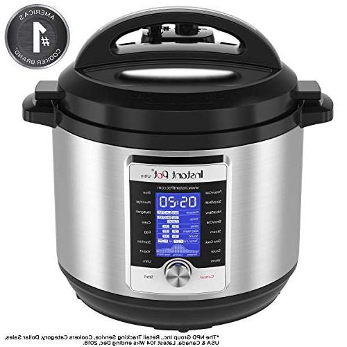 Instant Qt Programmable Pressure Cooker, Rice Cooker, Maker, and
