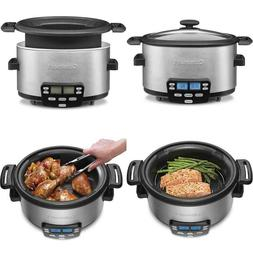 Msc-400 3-In-1 Cook Central 4-Quart Multi-Cooker: Slow Cooke