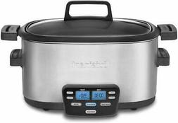 Cuisinart MSC-600 3-In-1 Cook Central 6-Quart Multi Slow Coo