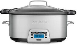 Multicooker 7 Qt. Stainless Steel Dishwasher Safe Parts with