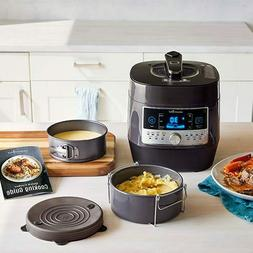 New! Pampered Chef QUICK COOKER & ACCESSORIES SET + free gif