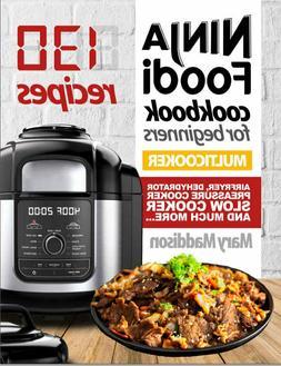 Ninja Foodi Cookbook For Beginners  ))