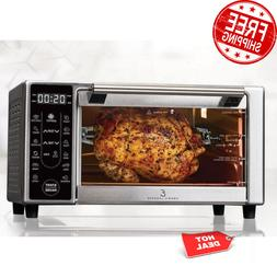 power airfryer 360 plus 1500w countertop oven