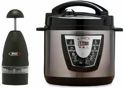 Power Pressure Cooker XL 8 QT Electric Canner As Seen on TV