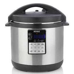 Pressure Cooker 6 Qt. Dishwasher Safe Parts in Stainless Ste