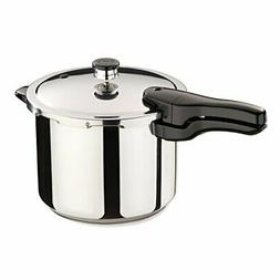 Presto Pressure Cookers 01362 6-Quart Stainless Steel Kitche