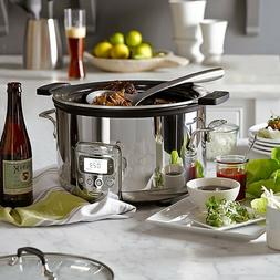 All-Clad SD712D51 Deluxe Slow Cooker with Black Cast-Aluminu