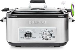 Cosori Slow Cooker 6Qt 11-In-1 Programmable Multicooker, Ric
