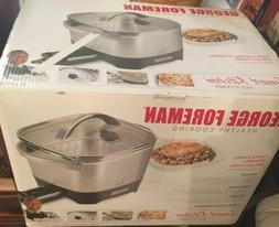 George Foreman Smart Kitchen Multicooker RC0995P New  In Box