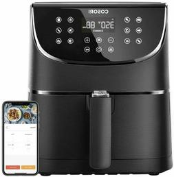 COSORI Smart WiFi Air Fryer 5.8Qt 100 Recipes Works with Ale