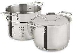 All-Clad® 6-qt. Stainless Steel Pasta Pot