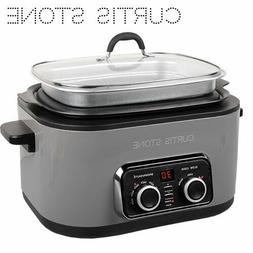 STONE GREY COLOR - BRAND NEW - Curtis Stone 6 Qt - 5 in 1 Ul