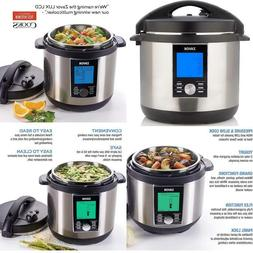 Zavor Lux Lcd 8 Quart Programmable Electric Multi-Cooker: Pr