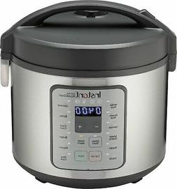 Instant - Zest Plus 20 cup Rice and Grain Cooker - Stainless